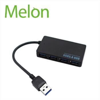 【Melon】USB3.1 Type-C to USB 3.0 4孔 HUB 集線器 BA077