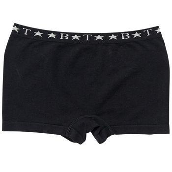 【嬪婷】校園安全褲M-LL四角褲(個性黑)