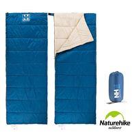 Naturehike H150春夏款輕薄透氣便攜式信封睡袋 深藍