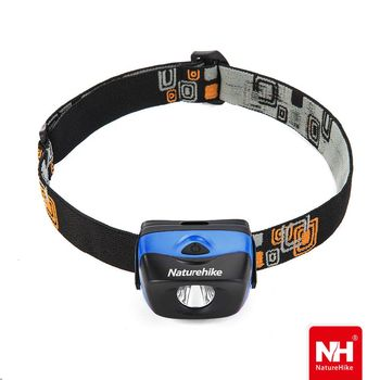 Naturehike防水高亮三段式LED頭燈 藍色