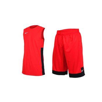 NIKE 839436/ 839437- 600 紅色 單面穿球衣球褲