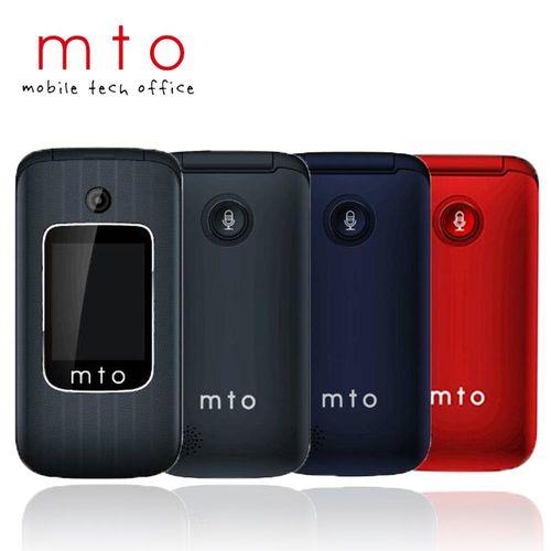 MTO M378 雙螢幕美型摺疊長輩機※贈2G記憶卡+內附二顆電池※