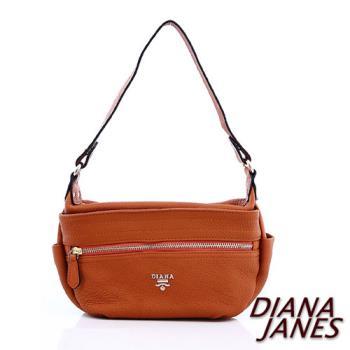 【Diana Janes 黛安娜】 頭層牛皮兩用斜揹包