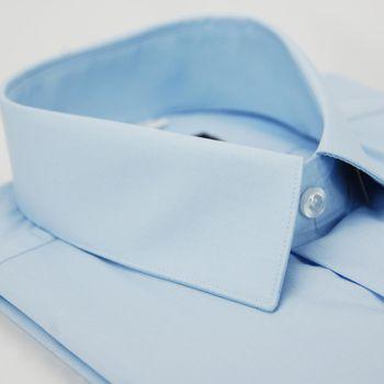 【金安德森】水藍色短袖襯衫