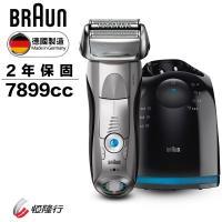 買就送Oral-B-3D智能電動牙刷★BRAUN德國百靈 7系列智能音波極淨電鬍刀7899cc
