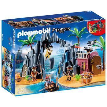 【德國 playmobil 摩比人】海盜系列 - 海盜寶藏島