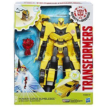 【 孩之寶 TRANSFORMERS 變形金剛 】RID 火力升級金剛組 - 大黃蜂