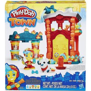 【 Play-Doh 培樂多黏土 】城市系列 - 消防隊遊戲組
