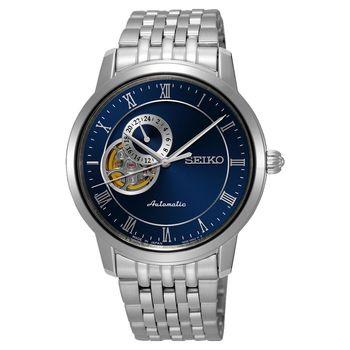 SEIKO Presage 24小時顯示開芯機械錶 39mm 4R39-00M0B SSA269J1