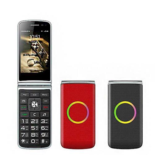 PIONEER P300 3.5吋摺疊智慧手機 老人機
