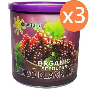 歐納丘有機加州黑鑽葡萄乾(284g*3罐)