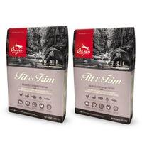 【Orijen】渴望 低卡貓 野牧鮮雞+鮮魚配方 貓糧 1公斤 X 2包