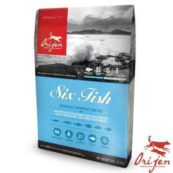 【Orijen】渴望 成犬 六種鮮魚+海藻配方 犬糧 1公斤 X 1包