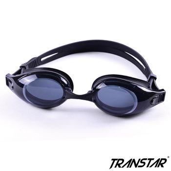 TRANSTAR 泳鏡 抗UV塑鋼鏡片-快速調扣防霧矽膠-6900II