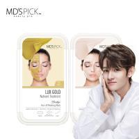 MDS PICK安瓶精華水療黃金撫紋+提亮面膜