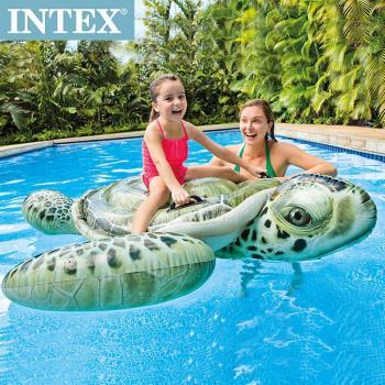 【INTEX】大海龜戲水浮排/水上坐騎(191*170cm) 適用3歲+(57555)