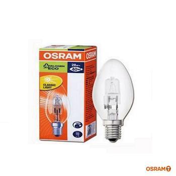 歐司朗 OSRAM 鹵素燈泡 28W E14-4入組