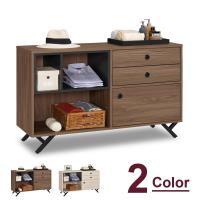 【時尚屋】[C7]約克4尺多功能置物櫃C7-509-11兩色可選/免組裝/免運費/置物櫃