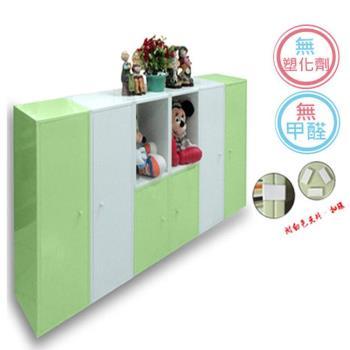 正陞iTAR DIY塑鋼組合櫃套裝組 (無磁性、附夾片)PC180-01
