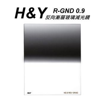HY R-GND 反向漸層玻璃減光鏡 ND1.2 100X125mm 大型方型漸層鏡~開年公司貨