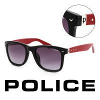 POLICE 義大利警察 百搭款韓系經典造型太陽眼鏡(黑) - POS1804-700R