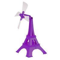 YASE USB巴黎鐵塔風扇(紫)