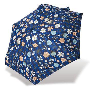 RAINSTORY雨傘-花漾戀曲(藍)抗UV輕細口紅傘