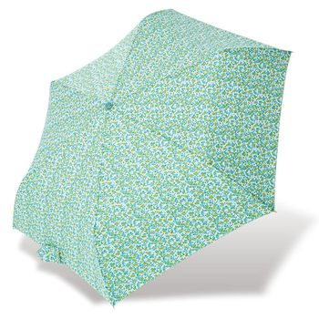 RAINSTORY雨傘-綠光花漫抗UV輕細口紅傘