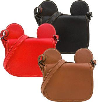 COACH x Disney 米奇限量聯名款大耳朵斜背包(3色選)