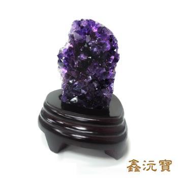 【鑫沅寶】天然烏拉圭紫晶鎮200g以上(款式隨機出貨)