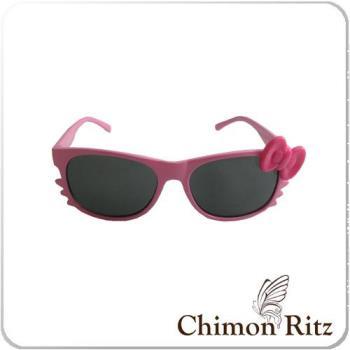 【Chimon Ritz】帥氣貓-兒童太陽眼鏡-粉紅色