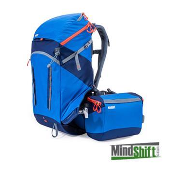MindShift 曼德士 Gear rotation 180° Horizon 戶外登山攝影 相機背包 34L(全配MS216A)藍色