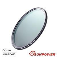 SUNPOWER TOP1 72mm ND4-ND400 可調減光鏡(湧蓮公司貨)