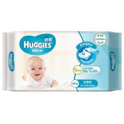 好奇 純水加厚型濕紙巾/嬰兒濕巾(80抽x3包x6組/箱)