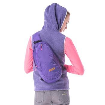 【hilltop山頂鳥】中性款9公升休閒旅遊背包T28X05紫