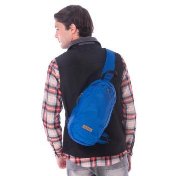 【hilltop山頂鳥】中性款9公升休閒旅遊背包T28X05藍