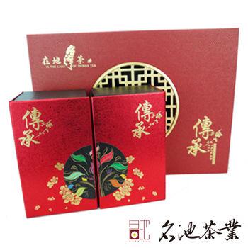 名池茶業 經典傳承禮盒 高冷大禹嶺茶+福壽梨山茶 150g *2