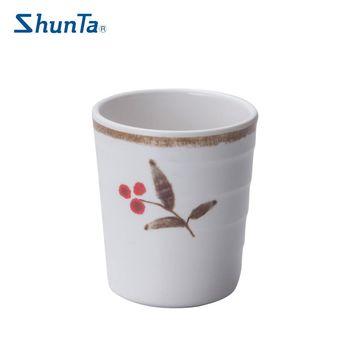 【Shunta】日式秋日螺紋茶飲杯-2入組