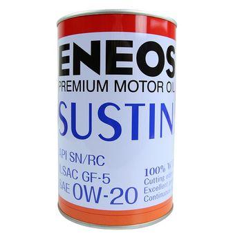 日本ENEOS SUSTINA 0W-20化學合成機油 4入