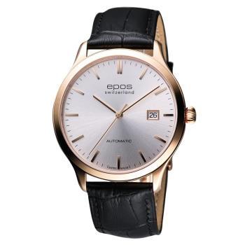 epos 原創系列超薄自動機械腕錶 40mm 3420.152.24.18.15FB