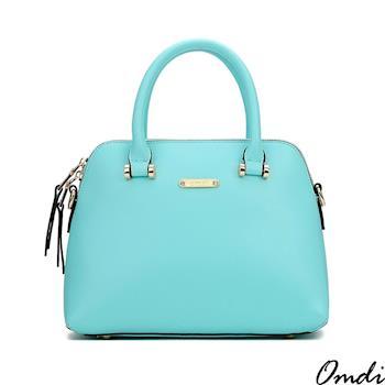 【Omdi】淡素優雅貝殼手提包-白色/黃色/藍色