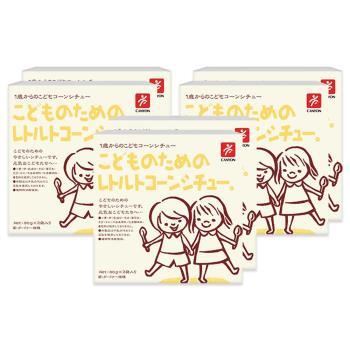 日本CANYON─兒童玉米濃湯調理包(淡路洋蔥口味)〈六入組〉