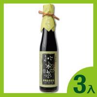 桃米泉 有機壺底蔭油(410ml/瓶)*3
