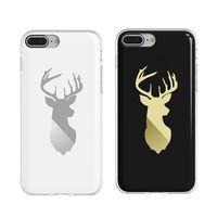 bcase Apple iPhone 7 Plus 插畫師手機套-鹿紋款