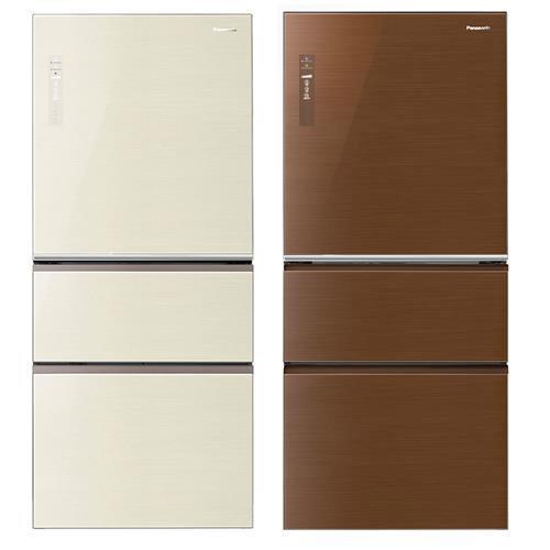 Panasonic國際610L三門ECONAVI變頻冰箱NR-C618NHG