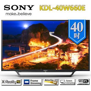 SONY新力 40型  FHD 高畫質液晶電視 KDL-40W660E
