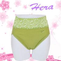 【HERA】舒適蕾絲內褲-希望橄欖