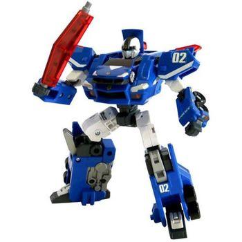 TOMICA 緊急救援隊 超音速特警 藍色變形機器人TW85727
