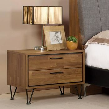 【時尚屋】[C7]洛爾納1.9尺床頭櫃C7-521-9免運費/免組裝/床頭櫃