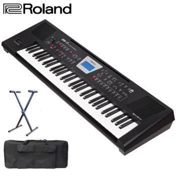 【Roland 樂蘭】BK-3 自動伴奏電子琴 61鍵 (加碼贈送琴架+琴袋)